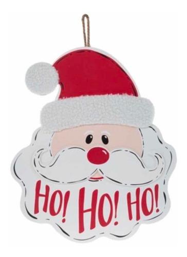 Imagen 1 de 2 de Letrero Madera Santa Claus