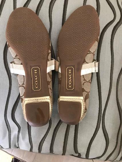 Remató Zapatos Coach 7.5 -4.5 Mexicano