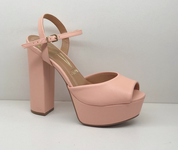 Sandalias Mujer Zapatos Vizzano Taco Palo 14 Cm. 6282-100