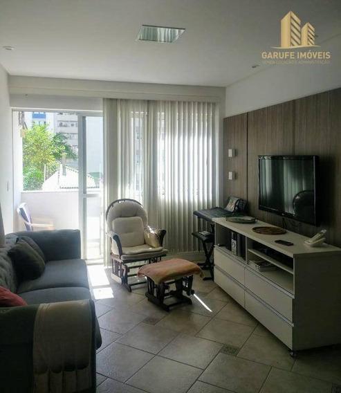 Apartamento Com 2 Dormitórios À Venda, 100 M² Por R$ 450.000,00 - Vila Adyana - São José Dos Campos/sp - Ap1360