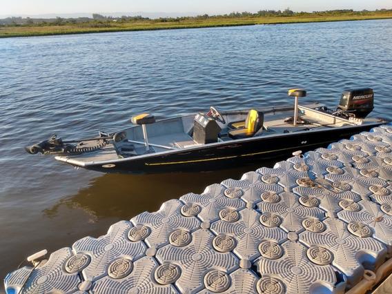 Barco Big Fish 5014 P/ Pesca Esportiva C/ Carreta