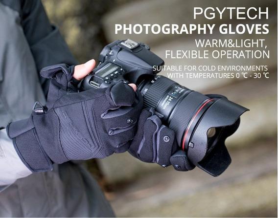 Luvas Para Piloto De Drones E Fotógrafos Pgytech Tam: Gg -xl