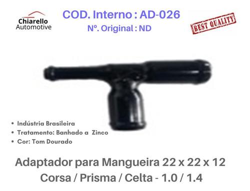 Adaptador Mangueira Corsa / Prisma / Celta - 1.0 / 1.4