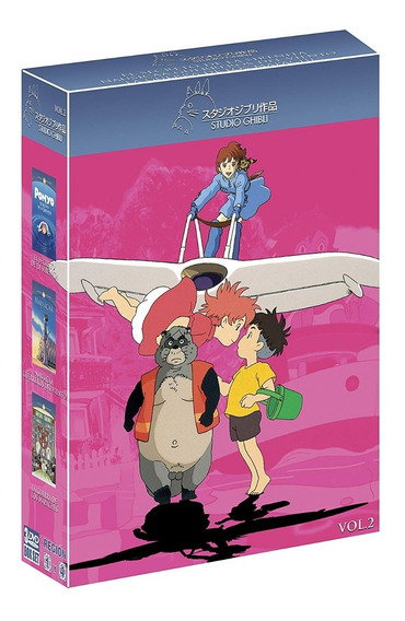 Paq Studio Ghibli Vol2 Ponyo Nausicaa Guerra De Los Mapache