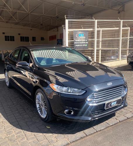 Imagem 1 de 8 de Ford Fusion Titanium 2.0 Preto 2014