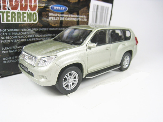 Auto Toyota Land Cruiser Prado Coleccion 1:38 Metal Welly