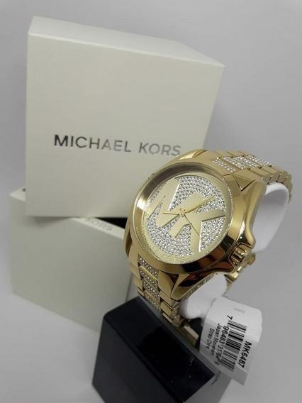Relógio Michael Kors Mk6487 100% Original 2 Anos De Garantia