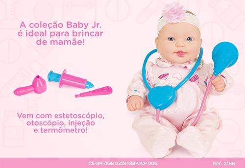 Coleção Baby Jr. Cuida Bebe Dodói - Cotiplás