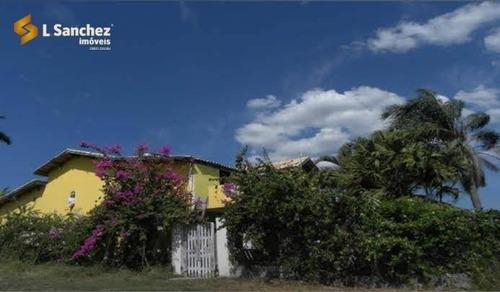 Chácara Com 4 Dormitórios À Venda, 800 M² Por R$ 790.000,00 - Chácara Guanabara - Guararema/sp - Ch0008