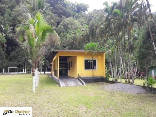 Imagem 1 de 20 de Chácara Em Mongaguá, Isolada, Lado Morro, Usada, 1 Dormitório, Sala - 3059 - 34777799