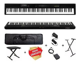 Piano 88 Teclas Sensitivo Artesia Performer Full Set + Cuota