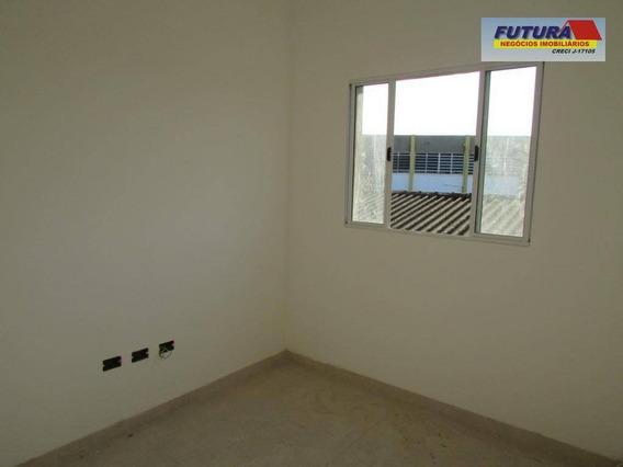 Casa Com 2 Dormitórios À Venda, 45 M² Por R$ 199.000,00 - Vila Cascatinha - São Vicente/sp - Ca0403