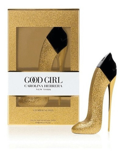 Imagen 1 de 2 de Good Girl Glorious Gold Edp 80ml C.herrera Portal Perfumes.