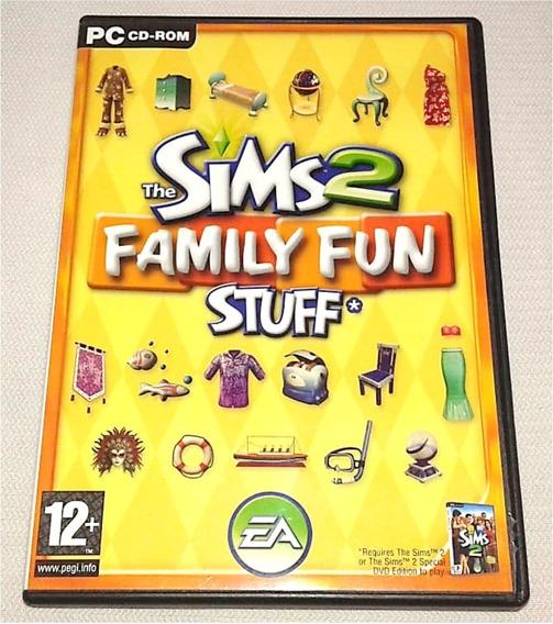 The Sims 2 Family Fun Diversão Família - Pcte Expansão Pc Cd