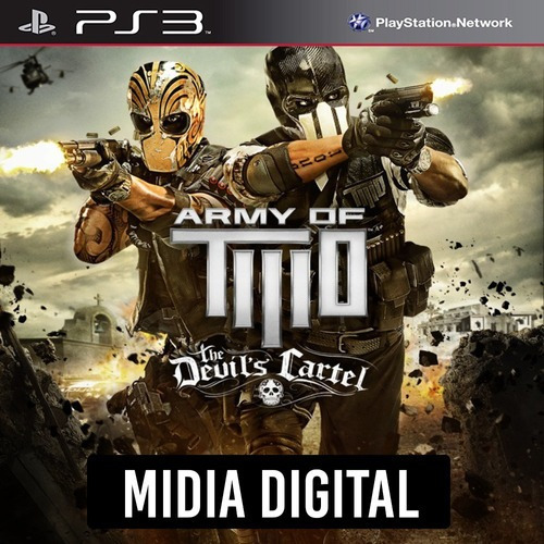 Army Of Two The Devils Cartel - Ps3 Psn*