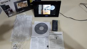 Porta Retrato Digital Sony Dpf-d710 - Memória Interna