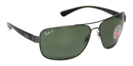 Óculos Sol Masculino Ray-ban Rb 3567 Polarizado - Promoção