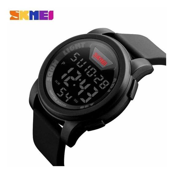 Relógio Skmei Digital Original Luxo Led Prova Dágua Promoção