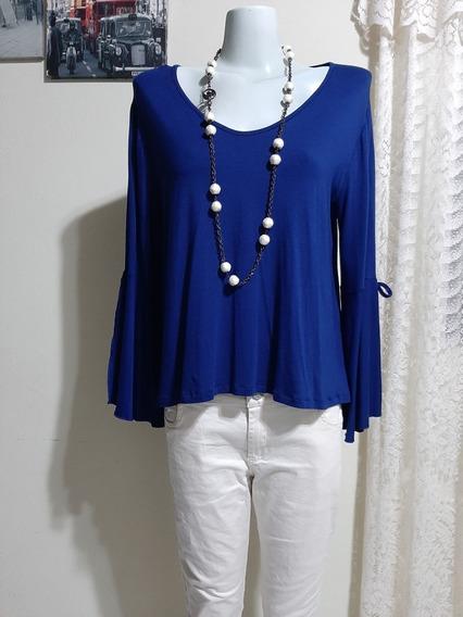 Remera Blusa Kill Azul Francia Impecable