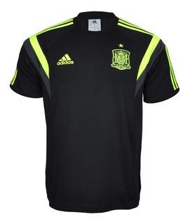 Camisa Espanha adidas Viagem 2014 + Nota Fiscal Ctsports