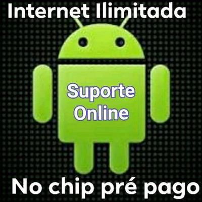 Suporte On-line Net Ilimitada Chip Pré Pago Serv/script/key