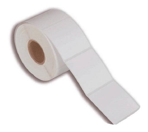 Etiqueta Térmica 40x60 Mm 1 Coluna Branca - 50 Rolos