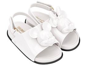Mini Melissa Minnie Beach Slide Sandal + Disney Original