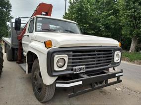 Ford 600 Con Hidrogrua Hiab