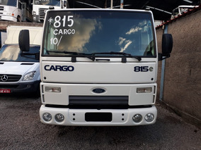 Ford Cargo 815 No Chassi Ano 10/11