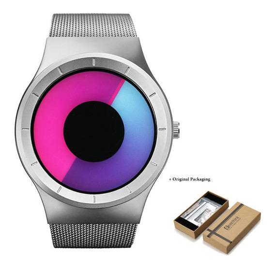 Relógios Criativo Quartz Top Marca De Luxo Casual Unisex De