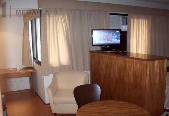 03083 - Flat 1 Dorm, Brooklin Novo - São Paulo/sp - 3083