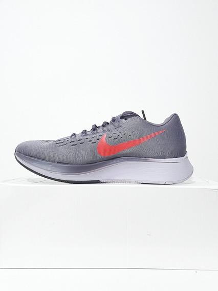Tênis Corrida Masculino Nike Zoom Fly Corrida Cinza N. 40