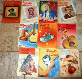 10 Cancionero Album De Oro De La Cancion Pedro Infante 1949