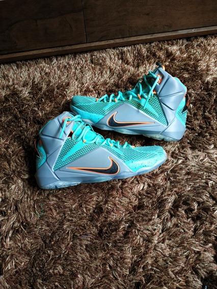 Tênis Nike Lebron James 12 Basquete Pronta Entrega