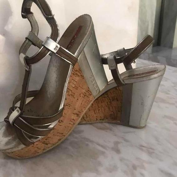 Zapatillas Tacones Spadriles Zapatos Flats Prada Fendi Gucci