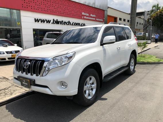 Toyota Prado Txl Blindada 3.0 Td At 4x4 Blanco Perlado 2016