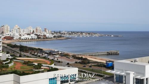 Apartamento En Torre Moderna Con Servicios En La Parada 4 De La Mansa- Ref: 910