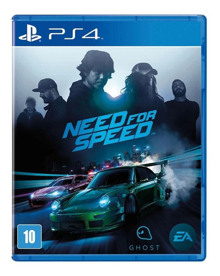 Jogo Need For Speed 2015 - Ps4 Mídia Física