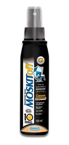 Moskitoff Icaridina Repelente Spray 100ml Farmax