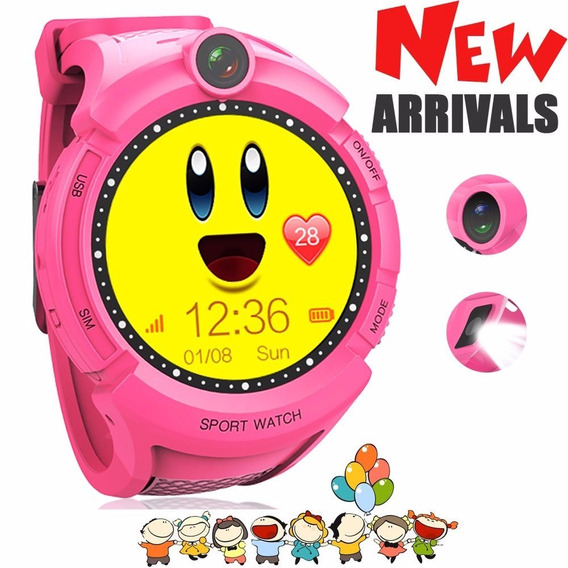 Rastreador Smartwatch Gps Tracking For Kids, With Touch