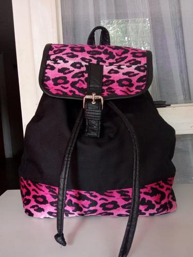 Bolso Morral Cartera Grande Backpacks Para Mujer