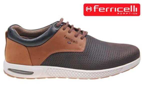 Tênis Ferricelliex52635 Brown/camel Ex52635