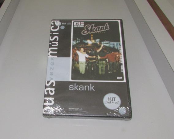 Skank Mtv Ao Vivo Ouro Preto Duas Vezes Musica Dvd+cd Novo