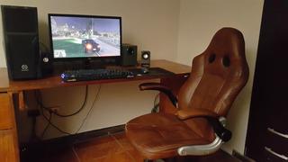 Pc Gamer Completa + Silla Gamer Y Mando Xbox 360 Inalambrico