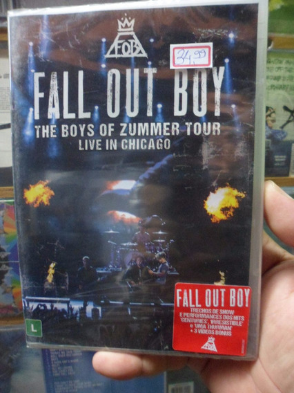 Dvd Fall Out Boy - Live In Chicago
