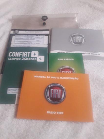 Manual Proprietário Palio Fire 2015 Kit Complet Frete Gratis