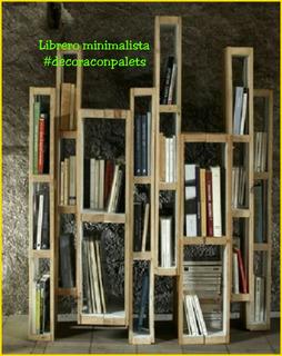 Libreros En Madera Bibliotecas Estantes Organizadores