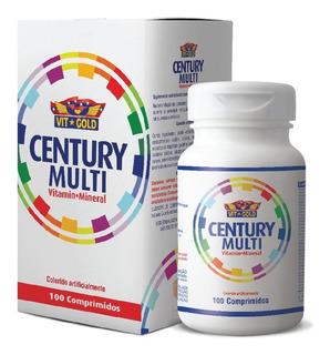 Century Multi Vitamin Mineral Vitgold Com 100 Comprimidos
