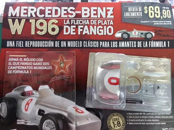 Mercedes Benz 196 Flecha De Plata Fangio Para Armar N° 1