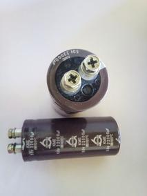 Capacitor Eletrolitico 22000 Mf 50v X2 Unid.